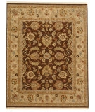 RugStudio presents Jaipur Rugs Opus Morin OP08 Cocoa Brown/Sand Hand-Knotted, Better Quality Area Rug