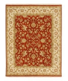 RugStudio presents Jaipur Rugs Atlantis Padma AL16 Red Oxide/Soft Gold Hand-Knotted, Good Quality Area Rug