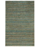 RugStudio presents Rugstudio Sample Sale 53391R Angel Blue Sisal/Seagrass/Jute Area Rug