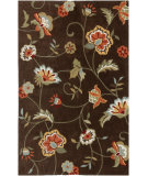 RugStudio presents Jaipur Rugs Brio Perennial Favorite Br07 Brown Hand-Hooked Area Rug
