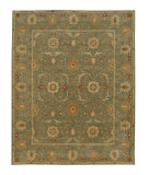 RugStudio presents Jaipur Rugs Poeme Rennes PM05 Sea Green Hand-Tufted, Better Quality Area Rug