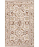 RugStudio presents Jaipur Rugs Poeme Empire Pm100 Antique White & Dark Ivory Hand-Tufted, Good Quality Area Rug