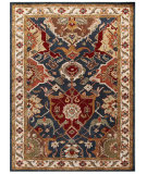 RugStudio presents Jaipur Rugs Poeme Aamanda Pm107 Indigo Hand-Tufted, Good Quality Area Rug