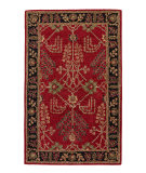 RugStudio presents Jaipur Rugs Poeme Chambery Pm111 Red Hand-Tufted, Good Quality Area Rug
