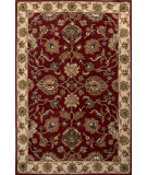 RugStudio presents Jaipur Rugs Poeme Valence Pm114 Red/Soft Gold Hand-Tufted, Good Quality Area Rug