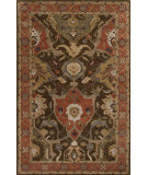 RugStudio presents Jaipur Rugs Poeme Aamanda Pm115 Tabacco/Orange Rust Hand-Tufted, Good Quality Area Rug