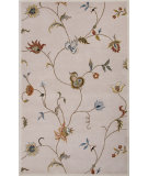 RugStudio presents Jaipur Rugs Poeme Alsace Pm116 Antique White Hand-Tufted, Good Quality Area Rug