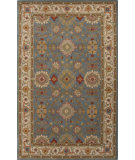 RugStudio presents Jaipur Rugs Poeme Empire Pm122 Seaside Blue/Cloud White Hand-Tufted, Good Quality Area Rug