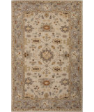 RugStudio presents Jaipur Rugs Poeme Maxine Pm123 Cloud White/Silver Hand-Tufted, Good Quality Area Rug