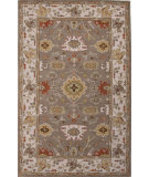 RugStudio presents Jaipur Rugs Poeme Maxine Pm124 Dark Taupe/Antique White Hand-Tufted, Good Quality Area Rug