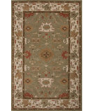 RugStudio presents Jaipur Rugs Poeme Maxine Pm125 Leaf Green/Cloud White Hand-Tufted, Good Quality Area Rug