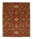 RugStudio presents Jaipur Rugs Poeme Cannes PM19 Coral/Dark Amber Gold Hand-Tufted, Better Quality Area Rug