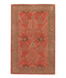 RugStudio presents Jaipur Rugs Poeme Chambery PM51 Orange Rust/Gold Brown Hand-Tufted, Better Quality Area Rug