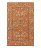 RugStudio presents Rugstudio Sample Sale 62045R Pumpkin/Pumpkin Hand-Tufted, Good Quality Area Rug