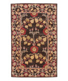 RugStudio presents Jaipur Rugs Poeme Rodez PM58 Deep Charcoal/Deep Charcoal Hand-Tufted, Good Quality Area Rug