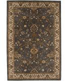 RugStudio presents Rugstudio Sample Sale 62035R Deep Blue/Dark Ivory Hand-Tufted, Good Quality Area Rug