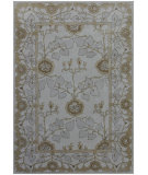 RugStudio presents Rugstudio Sample Sale 62043R Antique White/Antique White Hand-Tufted, Good Quality Area Rug