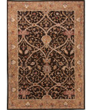 RugStudio presents Jaipur Rugs Poeme Biarritz Pm77 Deep Charcoal / Spice Brown Hand-Tufted, Good Quality Area Rug