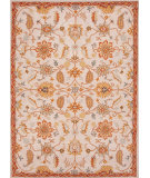 RugStudio presents Jaipur Rugs Poeme Autoire Pm86 Antique White / Orange Rust Hand-Tufted, Good Quality Area Rug