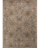 RugStudio presents Jaipur Rugs Poeme Autoire Pm87 Light Blue / Soft Gold Hand-Tufted, Good Quality Area Rug