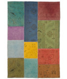 RugStudio presents Jaipur Rugs Provenance Sumak Pk04 Jade Green Flat-Woven Area Rug