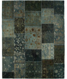 RugStudio presents Jaipur Rugs Provenance Wool & Silk Pi04 Teal Blue Hand-Knotted, Good Quality Area Rug