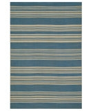 RugStudio presents Rugstudio Sample Sale 53537R Bermuda Blue Flat-Woven Area Rug