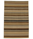 RugStudio presents Rugstudio Sample Sale 53546R Ice Blue/Dark Ivory Flat-Woven Area Rug