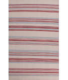 RugStudio presents Jaipur Rugs Pura Vida Amistad Pv18 White Ice / Porcelain Blue Flat-Woven Area Rug