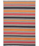 RugStudio presents Jaipur Rugs Pura Vida Salada Pv24 Amber Glow / Medium Rose Flat-Woven Area Rug