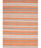 RugStudio presents Jaipur Rugs Pura Vida Tamarindo Pv27 Vermillion Orange Flat-Woven Area Rug