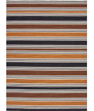 RugStudio presents Jaipur Rugs Pura Vida Salada Pv32 Vanilla Ice / Wood Brown Flat-Woven Area Rug