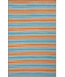 RugStudio presents Jaipur Rugs Pura Vida Ayuda Pv66 Vermillion Orange/Baltic Flat-Woven Area Rug