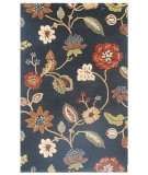 RugStudio presents Jaipur Rugs Blue Garden Party BL11 Ebony Hand-Tufted, Good Quality Area Rug