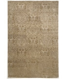 RugStudio presents Rugstudio Sample Sale 53365R Dark Sand Hand-Knotted, Good Quality Area Rug