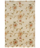 RugStudio presents Jaipur Rugs J2 Frangi J221 White Hand-Knotted, Good Quality Area Rug