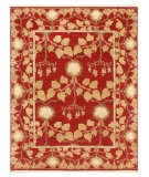 RugStudio presents Jaipur Rugs Opus Tree of Life OP13 Red Hand-Knotted, Better Quality Area Rug