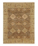 RugStudio presents Jaipur Rugs Opus Allegro OP16 Gray Brown/Sage Green Hand-Knotted, Better Quality Area Rug
