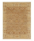RugStudio presents Jaipur Rugs Opus Allegro OP17 Oatmeal/Soft Gold Hand-Knotted, Better Quality Area Rug