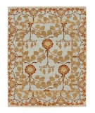 RugStudio presents Jaipur Rugs Opus Tree of Life OP18 Sky Blue Hand-Knotted, Better Quality Area Rug