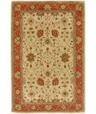RugStudio presents Rugstudio Sample Sale 53508R Soft Gold/Red Orange Hand-Tufted, Better Quality Area Rug