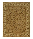RugStudio presents Jaipur Rugs Poeme Normandy PM38 Dark Sand/Cloud White Hand-Tufted, Better Quality Area Rug