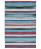 RugStudio presents Jaipur Rugs Coastal Living - Dhurries Hermosa CC01 Blue Jay Flat-Woven Area Rug