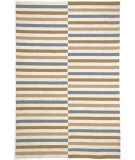 RugStudio presents Jaipur Rugs Coastal Living Indoor-Outdoor Line Dance CI03 Beige Hand-Hooked Area Rug