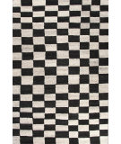 RugStudio presents Jaipur Rugs Riad Chess Ria04 Black Berry & Medium Ivory Hand-Tufted, Good Quality Area Rug