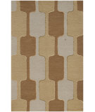 RugStudio presents Jaipur Rugs Traverse Rio Tv04 Medium Gold Hand-Tufted, Good Quality Area Rug