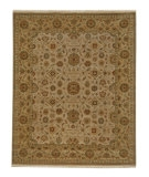 RugStudio presents Jaipur Rugs Biscayne Riverton BS05 Dark Ivory/Soft Gold Hand-Knotted, Good Quality Area Rug