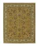 RugStudio presents Jaipur Rugs Lassen Park Saint Helens LS03 Bright Gold/Dark Ivory Hand-Knotted, Good Quality Area Rug
