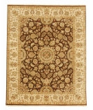RugStudio presents Jaipur Rugs Presidential Salzburg PS11 Cocoa Brown/Dark Ivory Hand-Knotted, Good Quality Area Rug