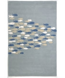 RugStudio presents Jaipur Rugs Coastal Living Hand-Tufted Schooled CH03 Pastel Blue Hand-Tufted, Good Quality Area Rug
